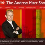 Sywwow will not appear on The Andrew Marr Show