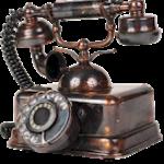 I answer the telephone