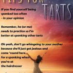 Tips for Tarts #2
